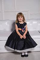 Нарядное платье с пышным подъюпником на 6 - 7 лет