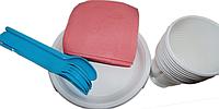 Набор одноразовой посуды на 10 персон