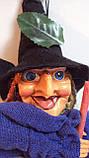 Кукла Баба-яга декоративная длина 50 см, фото 4