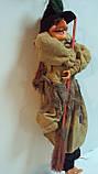 Кукла Баба-яга декоративная длина 50 см, фото 3