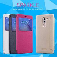 Кожаный чехол Nillkin Sparkle для Huawei GR5 2017 (BLL-21) (4 цвета)