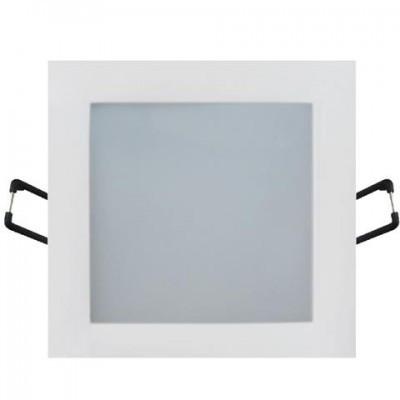 LED светильник встраиваемый HOROZ ELECTRIC SLIM/Sq-9 SMD 9W 2700K/4200K/6400K квадрат