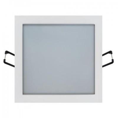 LED светильник встраиваемый HOROZ ELECTRIC SLIM/Sq-24 SMD 24W 2700K/4200K/6400K квадрат