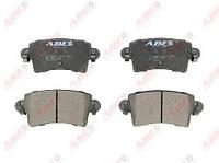 Колодки тормозные дисковые задние комплект ABE C2X011ABE