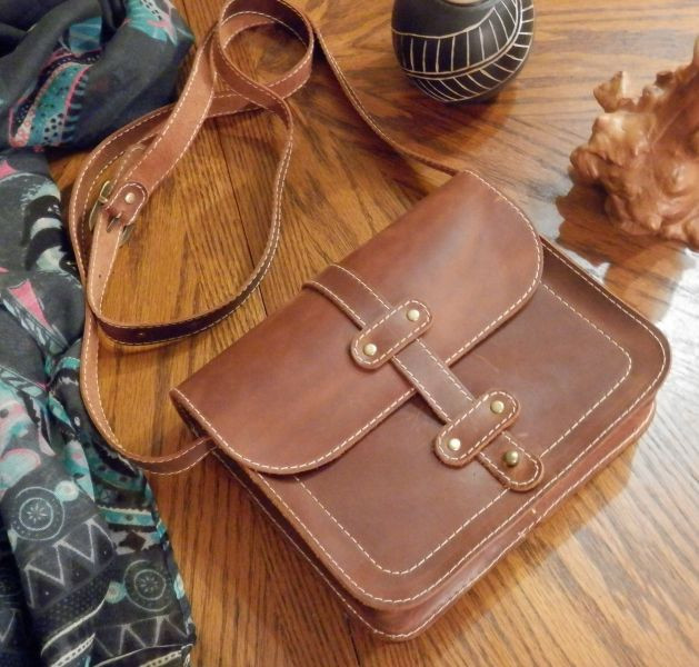2cb344f110a9 Кожаная мужская сумка Folk Babak 865065 коньяк — только качественная ...