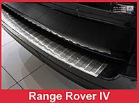 Защитная накладка на бампер из нержавейки Range Rover Vogue L405