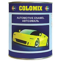 000 Черная Мат.  COLOMIX автомобильная алкидная эмаль 1л.