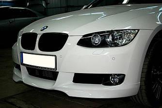 Губа BMW E92 (06-09) тюнинг обвес переднего бампера
