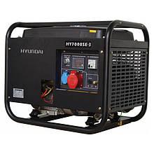 Электрогенератор Hyundai HHY 7000SE-3