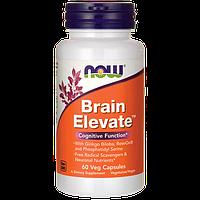 Витамины для мозга Brain Elevate, Now Foods, 60 капсул