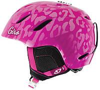 Горнолыжный шлем Giro Nine Jr, Magenta Leopard (GT) M (55.5-59)