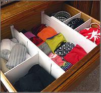Органайзер для одежды Expandable Dresser Drawer Dividers, фото 1