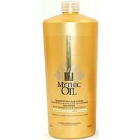 Питательный шампунь для нормальных и тонких волос 1000ml Mythic Oil