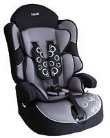 """Детское автомобильное кресло Siger """"Драйв"""" , 1-12 лет, 9-36 кг, группа 1/2/3 (серый)"""