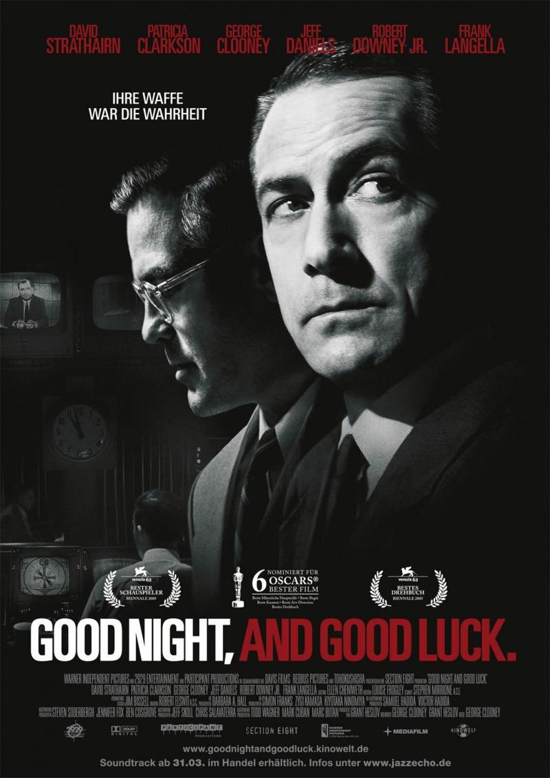 DVD-диск Спокойной ночи и удачи (Д.Клуни, Р.Дауни мл.) (2005)
