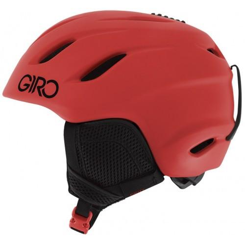 Горнолыжный шлем Giro Nine Jr, матовый-красный (GT)