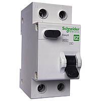 Диференційний автомат EZ9 1P+N/16A/30mA/тип АС