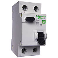 Диференційний автомат EZ9 1P+N/25A/30mA/тип АС
