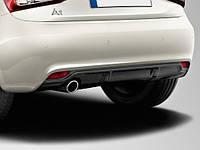 Диффузор юбка тюнинг обвес Audi A1 под одну выхлопную трубу