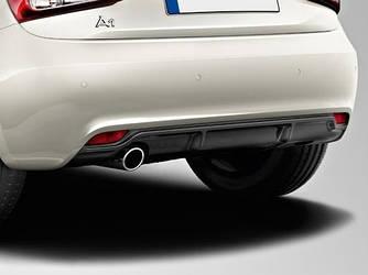Дифузор спідниця обвіс Audi A1