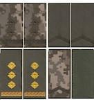 Погоны Министерства обороны на липучке нового образца