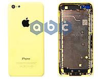 Корпус Apple iPhone 5C, белый, жёлтый