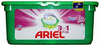 Капсулы для стирки ARIEL Power Lenor Fresh 28 шт