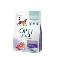 Сухой корм Optimeal (Оптимил) вывеление шерсти для кошек (УТКА) 4 кг