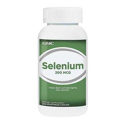 GNC SELENIUM 200 mg 200 caplets