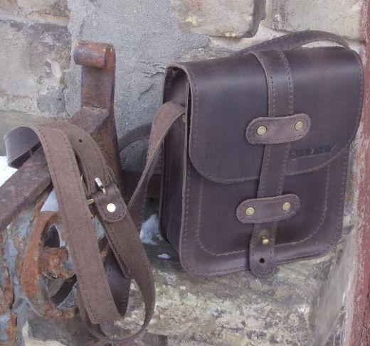 e9972018defc Кожаная мужская сумка Сrossbody Babak 868051 коричневый — только ...