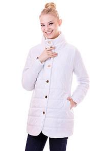 Куртка жіноча весна Irvik F104 білий