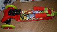 Трехколесный самокат BB3-016-2 со складной ручкой Mini Micro оранжевый