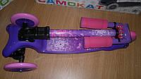 Трехколесный самокат BB3-016-2 со складной ручкой Mini Micro фиолетовый