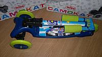 Трехколесный самокат BB3-016-2 со складной ручкой Mini Micro синий