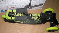 Трехколесный самокат BB3-016-2 со складной ручкой Mini Micro зеленый
