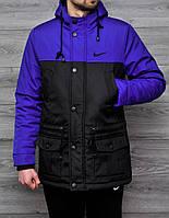 Куртка парка мужская зимняя