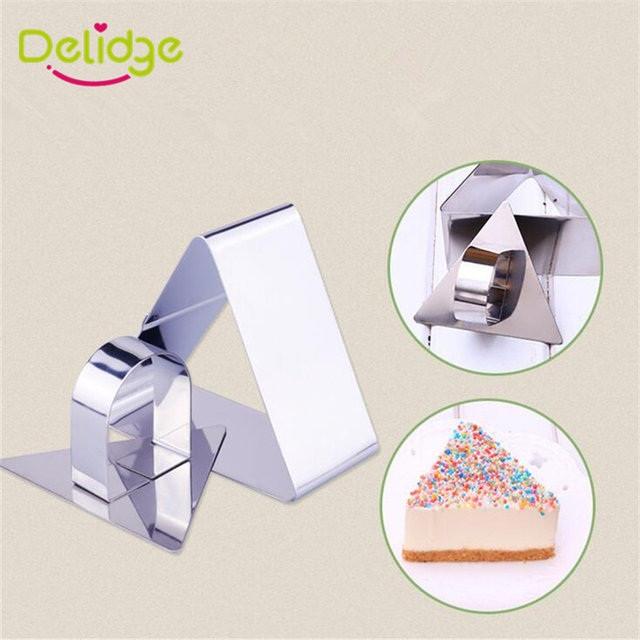 """Форма для десертів,тіста,гарнірів """"Трикутник"""""""