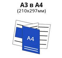 А3 в А4