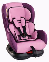 """Детское автомобильное кресло Siger """"Наутилус"""" фиолетовый, 0-4 лет, 0-18 кг, группа 0+/1"""