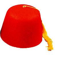 Шапочка Феска (красная) 210117-030