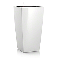 Умный вазон Cubico 40  Белый глянец