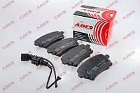 Колодки тормозные дисковые задние комплект ABE C2W023ABE