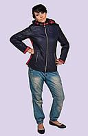 Модная стеганная молодежная куртка Модель 14   44-52размеры