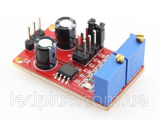 Модуль генератора імпульсів на таймері 555