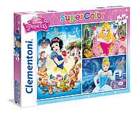 Пазли Принцеси Діснея Supercolor Clementoni 3x48 ел