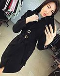 Женское стильное демисезонное пальто отличного качества (4 цвета), фото 4