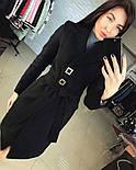 Женское стильное демисезонное пальто отличного качества (4 цвета), фото 5