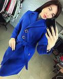 Женское стильное демисезонное пальто отличного качества (4 цвета), фото 7