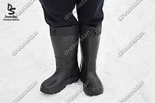 Сапоги мужские пенка черные ( Код : EVA-01)