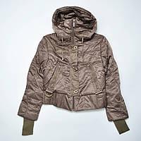 Куртки женские оптом, молодежный фасон, короткая с капюшоном